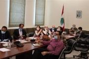 اجتماع لجنة 'كورونا' بممثلي منظمات دولية: لمعالجة موضوع قاطني مبنى رأس النبع