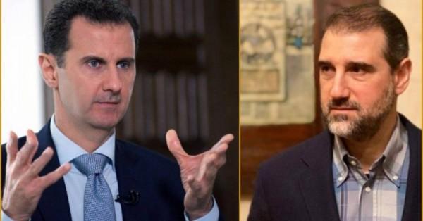 الحرب بين الأسد وابن خاله تستعر.. النظام يعتقل 15 ضابطاً موالياً لرامي مخلوف!