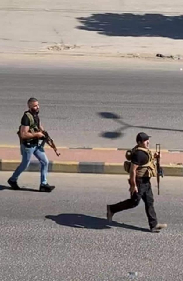 عناصر حزب الله يروعون أهالي زحلة بالرصاص والسبب قتيل في سوريا
