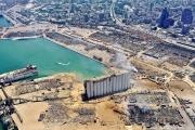 الـ «سي. ان.ان» تستخدم صور الأقمار الصناعية لرصد «زلزال بيروت» وحجم الحفرة التي خلّفها