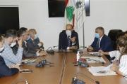 وزير الصحة بحث في شؤون الدواء وتأمين لقاح ضد كورونا