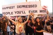 حالة اللبناني المكتئب