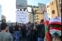مئات المتظاهرين تقاطروا إلى مرفأ بيروت لإضاءة شعلة '17 تشرين'