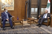 بري عرض مع زواره في المستجدات أمنيا وسياسيا السفير زكي : الجامعة العربية حاضرة لأي مساعدة