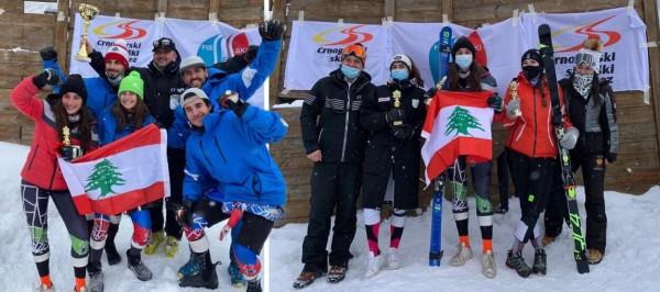 لبنان بطلاً للدول الصغرى في التزلج الألبي