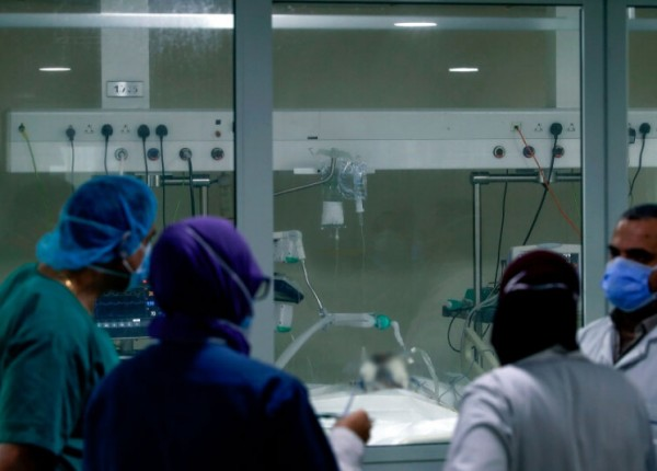 كورونا.. توسعة لوحدة العناية المركزة في مستشفى الحريري