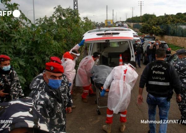 نقل جثة سليم الى مستشفى صيداالحكومي بعد الكشف عليها