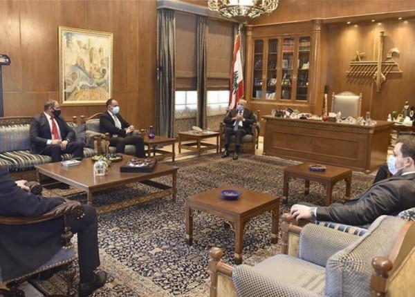 بري استقبل 'ايدال' و'الجامعة اللبنانية الثقافية في العالم'