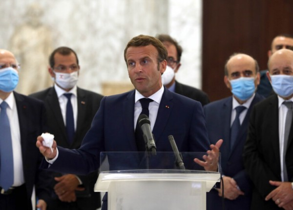 الرسالة الفرنسية الى المسؤولين