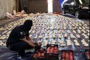 'أرقامٌ صادمة': إليكم كمية الحبوب المخدرة المصادرة من 'شحنات الفاكهة'!