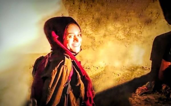 أنظروا جيّداً في عيون مريم عفيفي.. ستجدون فلسطين