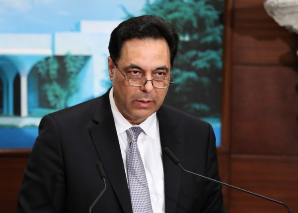 دياب: ندعو المجتمع الدولي لإدانة جرائم اسرائيل في جنوب لبنان وفي غزة