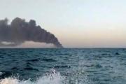 غرق أكبر سفينة حربية إيرانية..بعد احتراقها في ظروف غامضة