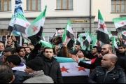 بعد مظاهرة السوريين في باريس