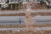 فيديو يظهر فرار مليشيات شيعية أمام جيش الفتح بحلب (شاهد)