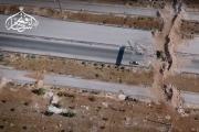 فيديو لتناثر مليشيات شيعية بقصف لجيش الفتح بحلب (شاهد)