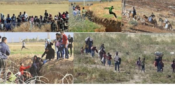 تفاصيل مثيرة حول تهريب البشر إلى تركيا ...مغامرات ومخاطر ومئات العائلات تتنظر أمل العبور