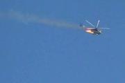 بالفيديو… تدمير مروحية روسية في حماة