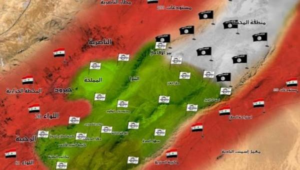 الجيش الحر يحبط أكبر هجوم لداعش في القلمون وكتائب الأسد تؤازر التنظيم!!