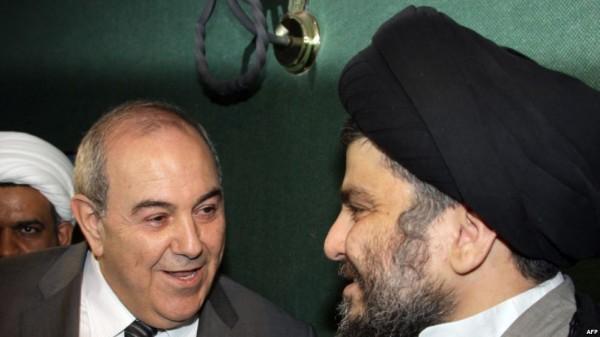 الصدر عن تركه للشيعي وتحالفه مع علاوي: سابق لآوانه