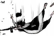كاريكاتير داعش في ليبيا
