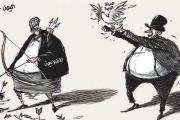 كاريكاتير الانقلابيون في اليمن