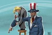 كاريكاتير: من السياسة الأميركية
