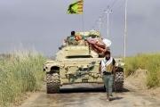 الحشد الشيعي فوق العراق