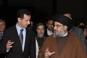 هكذا التقى نصر الله الأسد سرا.. في خيمة وفي هذا المكان