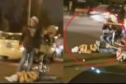 اردني يقتل شقيقته في الشّارع ثمّ يضع كرسياً ويجلس عليه بجانب الجثة