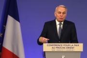 مؤتمر باريس: أي حل للنزاع الفلسطيني الإسرائيلي يجب أن يستند لحدود 1967.. بماذا تعهَّدت واشنطن لتل أبيب؟