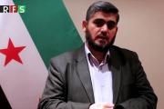 محمد علوش سيترأس وفد فصائل المعارضة إلى محادثات آستانا